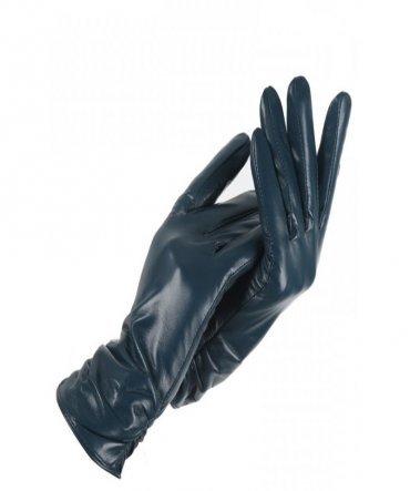 Перчатки кожаные короткие 25 см