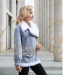 Куртка-косуха из 100% шерсти с калганом 70 см