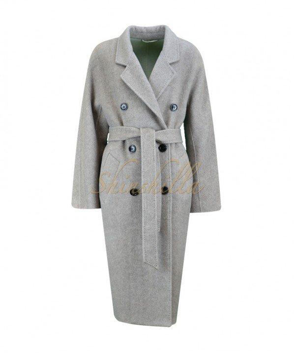 Пальто шерстяное 100%