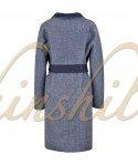 Пальто из 100% шерсти 100 см