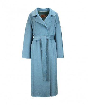 Пальто из 100% шерсти 115 см