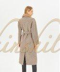 Пальто с норкой 120 см