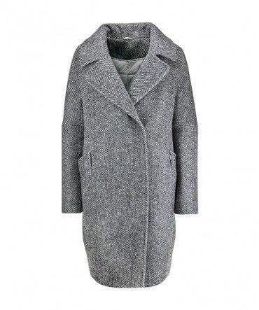 Пальто из шерсти 90 см