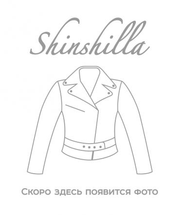 Пальто из 100% шерсти с капюшоном 80 см